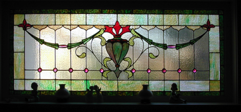 Residential Stained Glass Windows Old House Living
