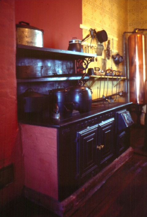Kitchen, Point Ellice House Historic Site, Victoria B.C. A Built In Range  Was Used Part 57